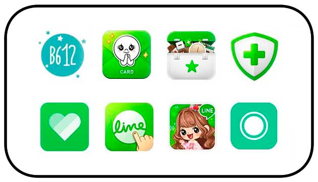 Line Apps and complementary applications Line ipad