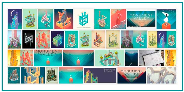 Monument Valley Game - Line for iPad