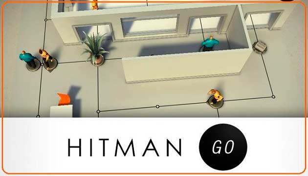 Hitman Go, Apple, Iphone, Ipad, strategy, iOS, iTunes, App Store
