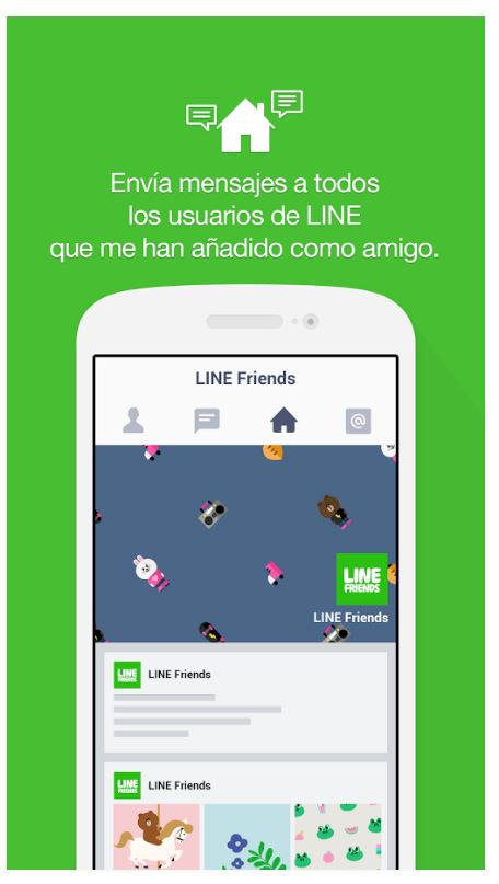 Line@-